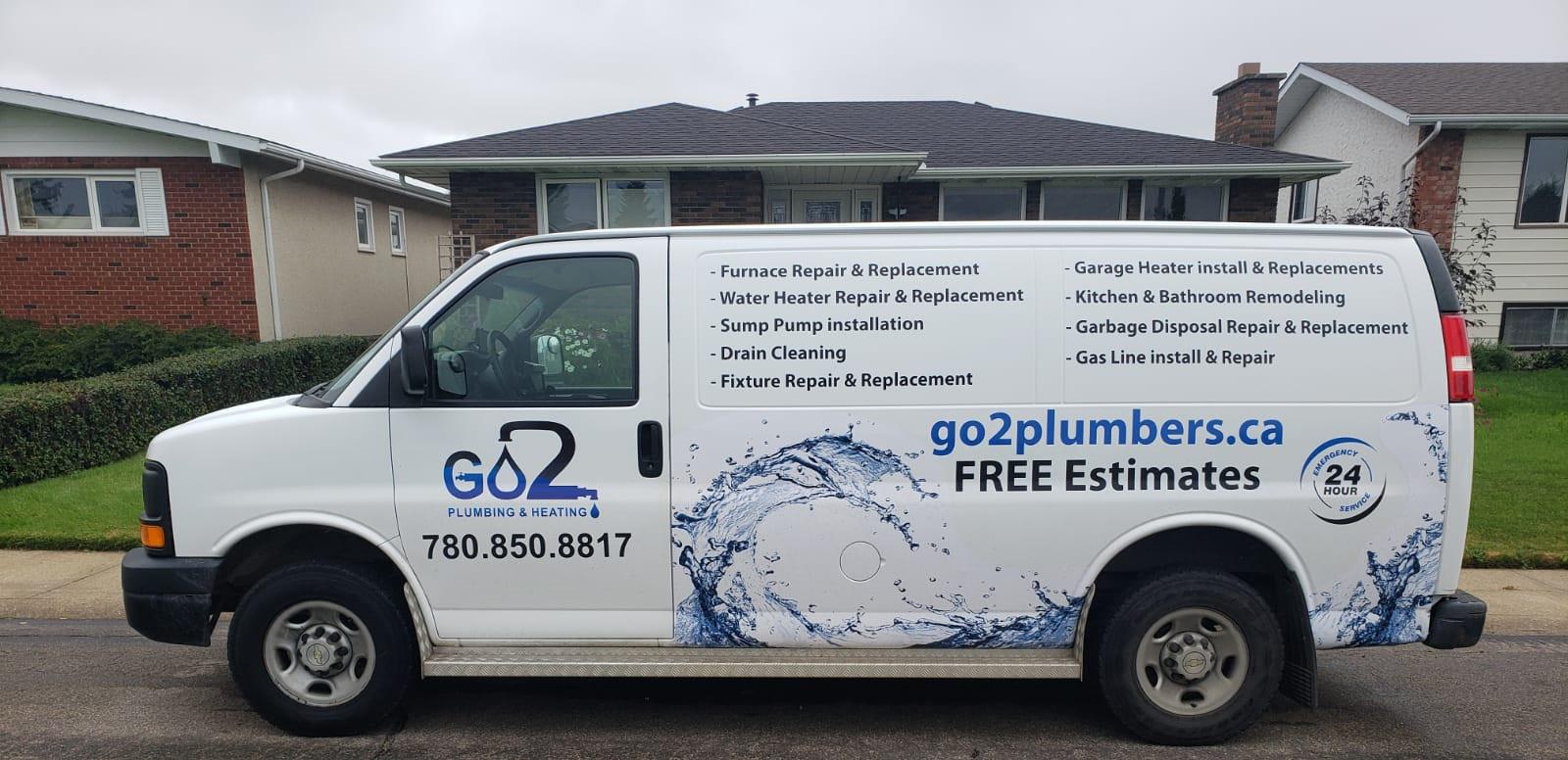Edmonton plumbing and heating services