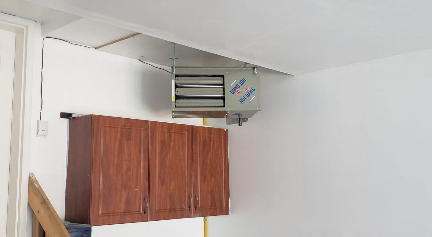 Garage Heater Repair and Install in Edmonton